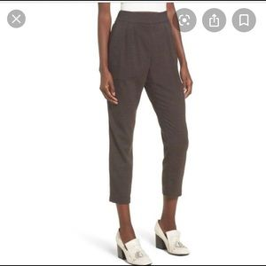 Leith side zip c twist pants